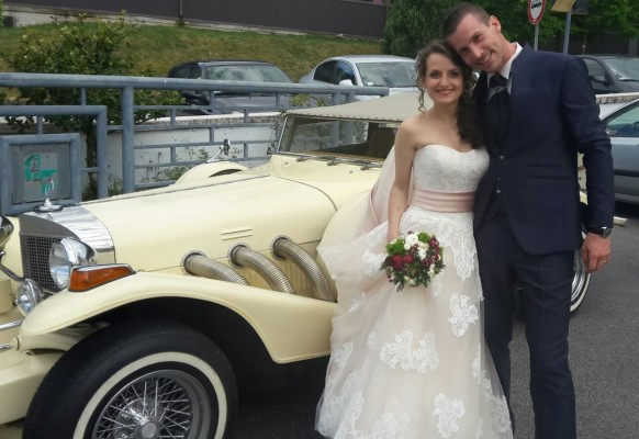 Sposi Luca e Daniela