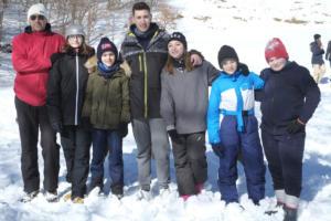 Weekend in montagna (Matese - Bocca della selva 8-9.2 (315)